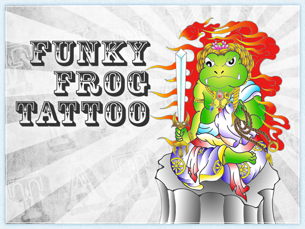 FUNKY FROG TATTOO